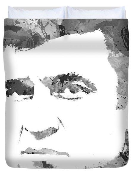 American Legend Johnny Cash Duvet Cover
