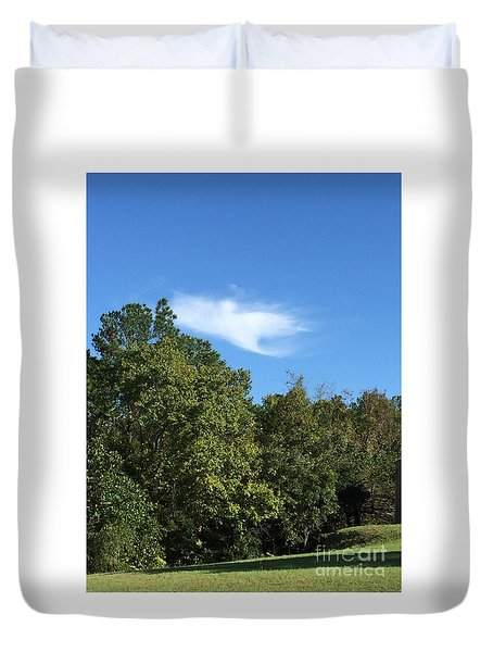 Angel Of Hope Duvet Cover