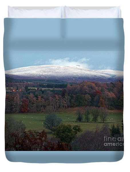 Autumn Into Winter  Duvet Cover