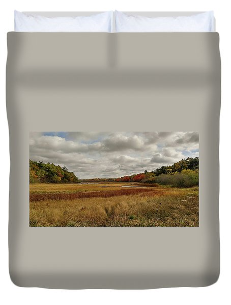 Autumn  Duvet Cover by Jewels Blake Hamrick