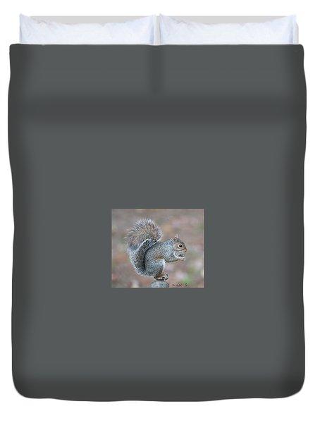 Autumn Squirrel Duvet Cover