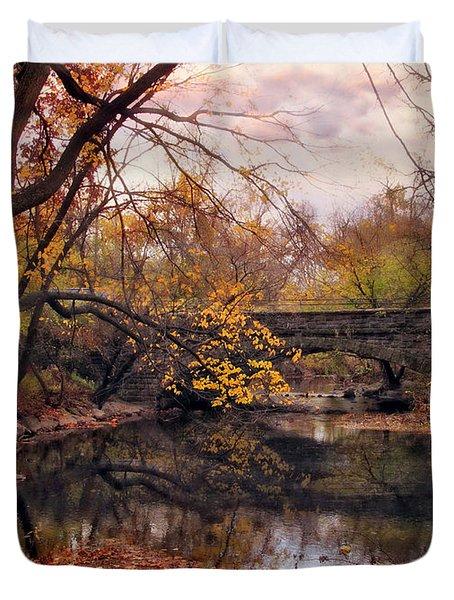 Autumn's Ending Duvet Cover by Jessica Jenney
