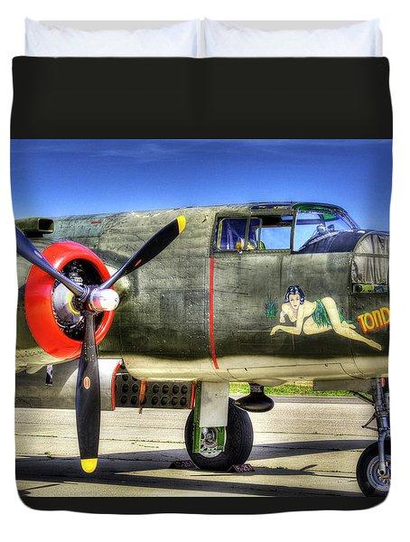 B-25  Duvet Cover