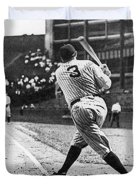 Babe Ruth Duvet Cover