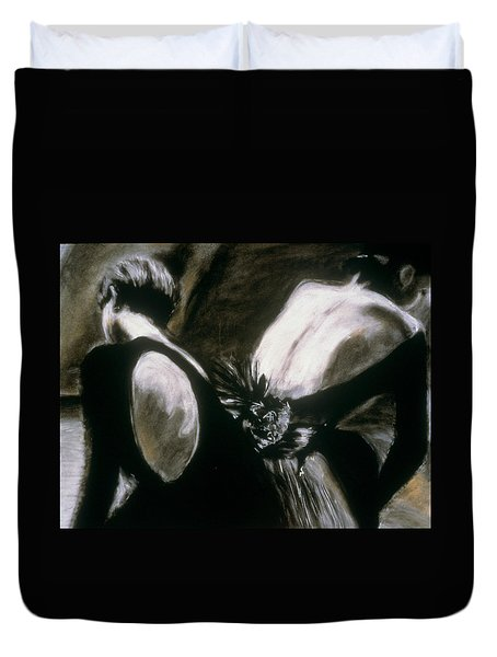 2 Ballerinas Duvet Cover