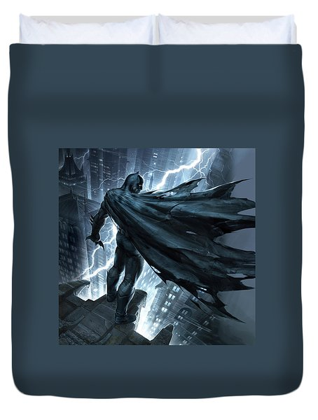Batman The Dark Knight Returns 2012 Duvet Cover