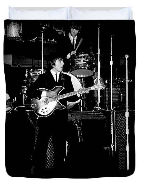 Beatles In Concert 1964 Duvet Cover
