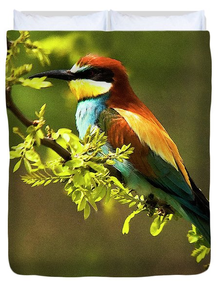 Bee Eater Duvet Cover