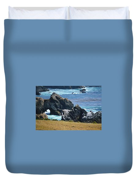 Big Sur Duvet Cover