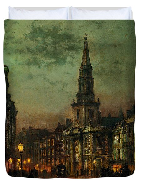 Blackman Street London Duvet Cover