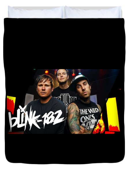 Blink 182 Collection Duvet Cover by Marvin Blaine