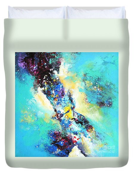 Blue Harmony Duvet Cover