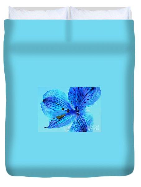 Blue Summer II Duvet Cover