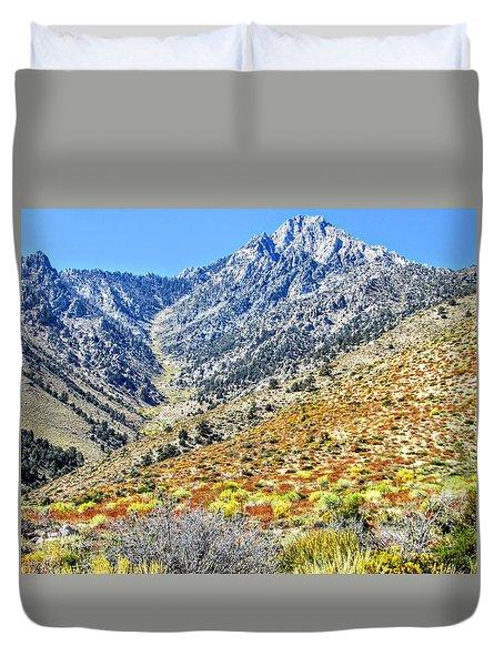 Bountiful Desert Duvet Cover