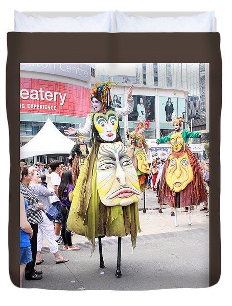 Busker Fest Toronto August 2014 Duvet Cover