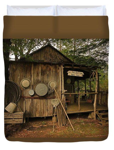 Cajun Cabin Duvet Cover