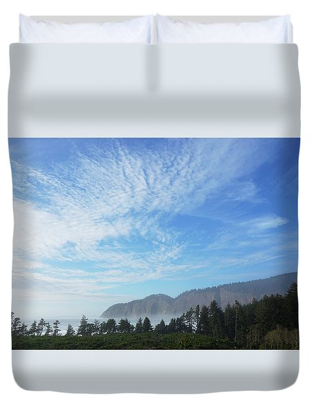 Cape Lookout Duvet Cover by Angi Parks
