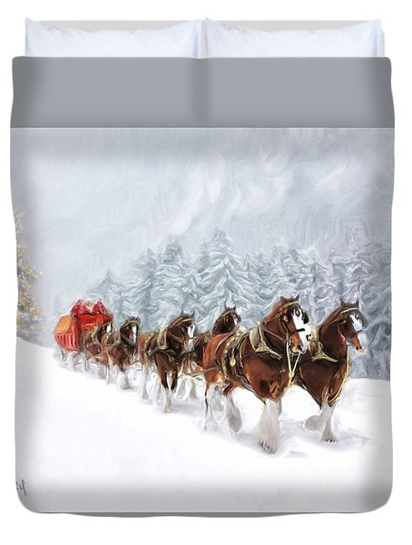 Carriage Duvet Cover