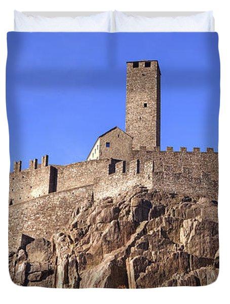 Castelgrande - Bellinzona Duvet Cover by Joana Kruse