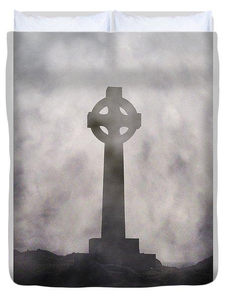 Celtic Cross Duvet Cover by Joana Kruse