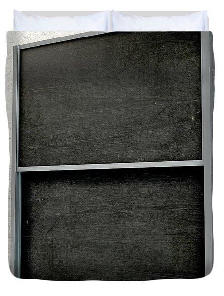 Chalk Board Render Duvet Cover