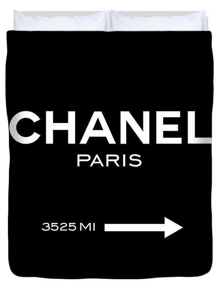 Chanel Paris Duvet Cover