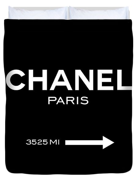 Chanel Paris Duvet Cover