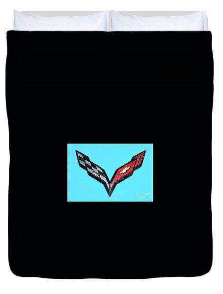 Chevy Emblem Duvet Cover
