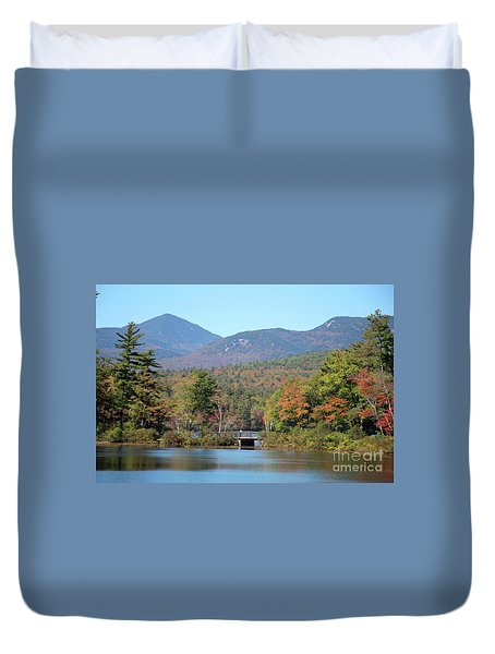 Chocorua Lake Duvet Cover
