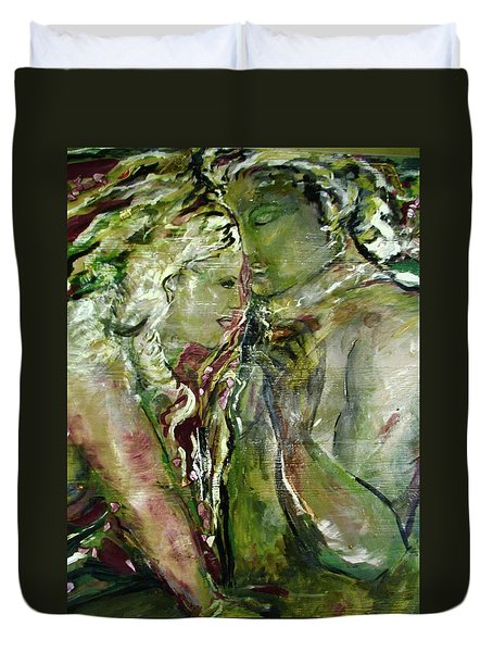 Cigar Interlude Duvet Cover