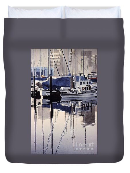 City Mooring Duvet Cover