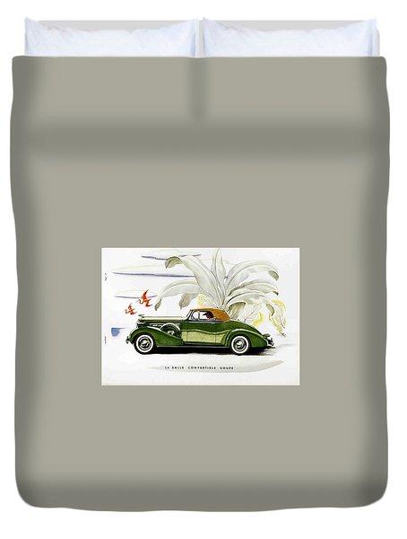 Classic Cars Duvet Cover by Allen Beilschmidt
