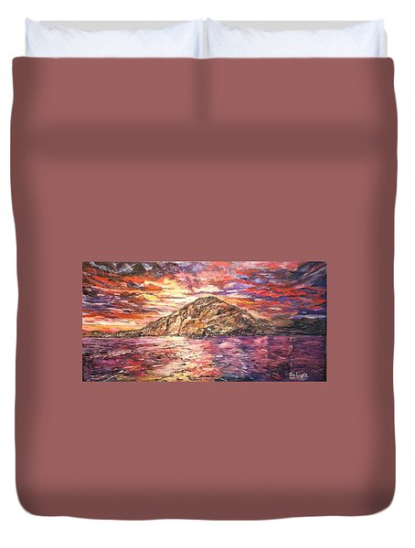 Close To You Duvet Cover by Belinda Low