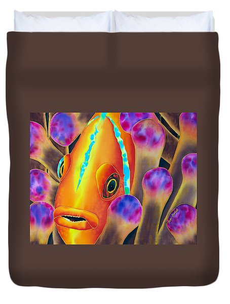 Clown Fish Duvet Cover