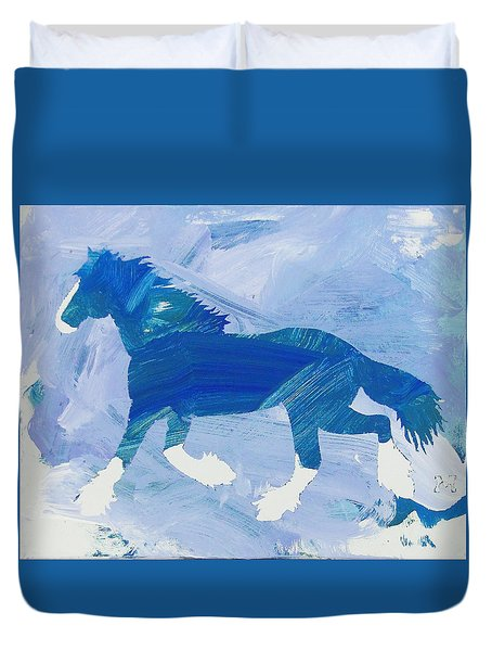 Clydesdale Dreams Duvet Cover