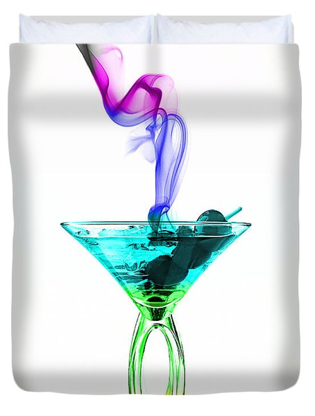 Cocktails Collection Duvet Cover by Marvin Blaine