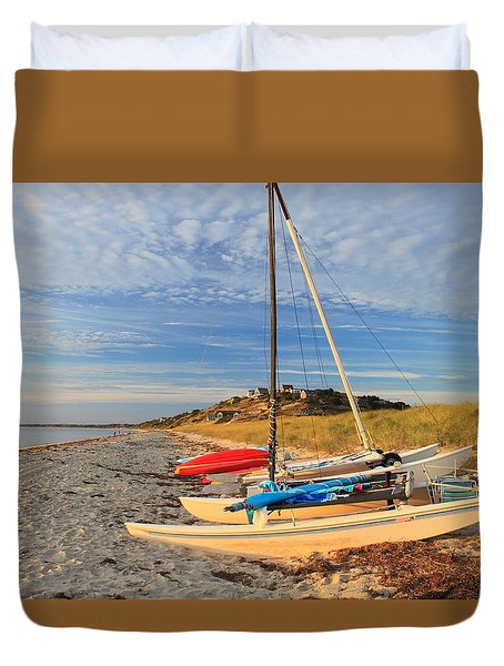 Corn Hill Beach Truro Cape Cod Duvet Cover