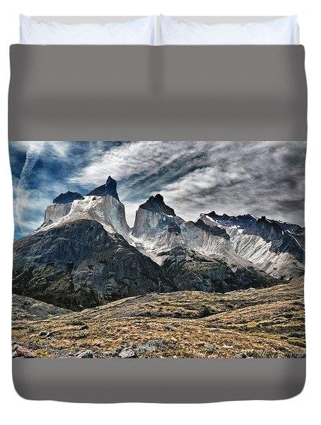 Cuernos Del Paine Duvet Cover
