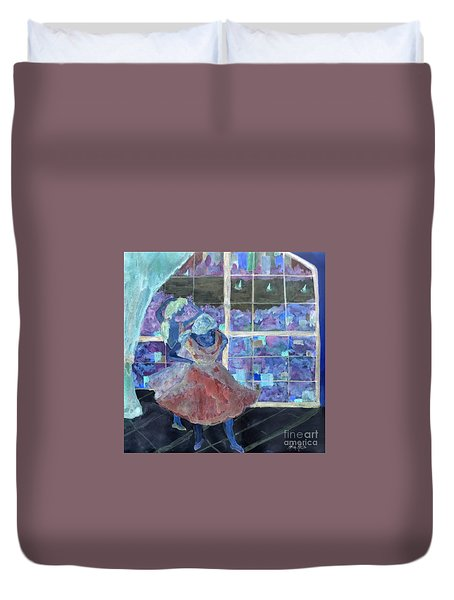 Dansarinas Duvet Cover by Reina Resto