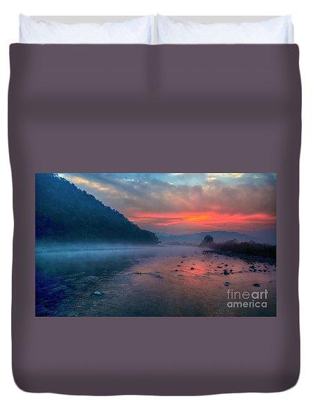 Dawn Duvet Cover by Pravine Chester