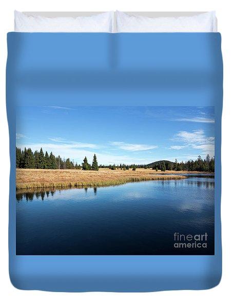 Dead Pond Duvet Cover by Michal Boubin