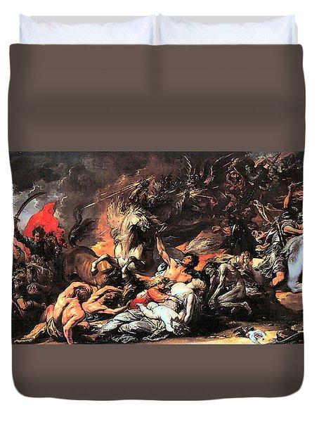 Death On A Pale Horse Duvet Cover