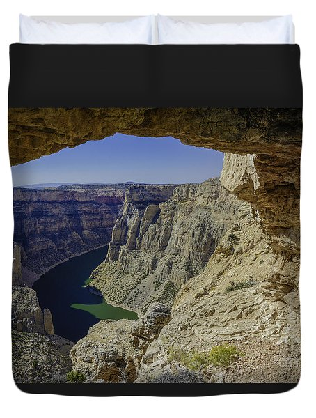 Devils Overlook Duvet Cover
