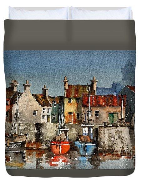 Dingle Harbour, Kerry Duvet Cover