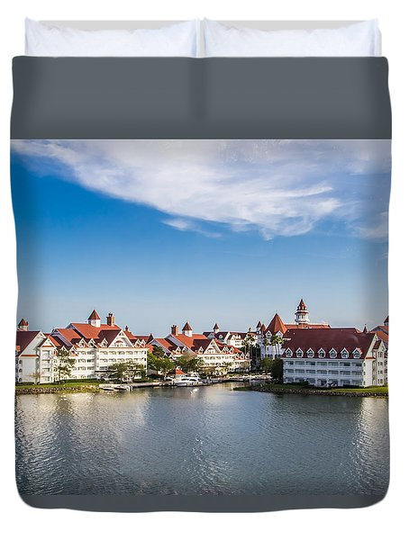 Disney's Grand Floridian Resort And Spa Duvet Cover