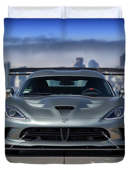 #dodge #acr #viper Duvet Cover