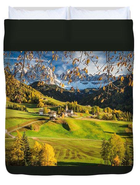 Dolomites Duvet Cover