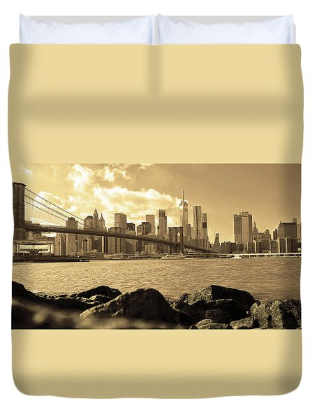 Duvet Cover featuring the photograph Dream by Mitch Cat