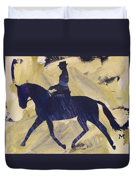 Dressage Queen Duvet Cover
