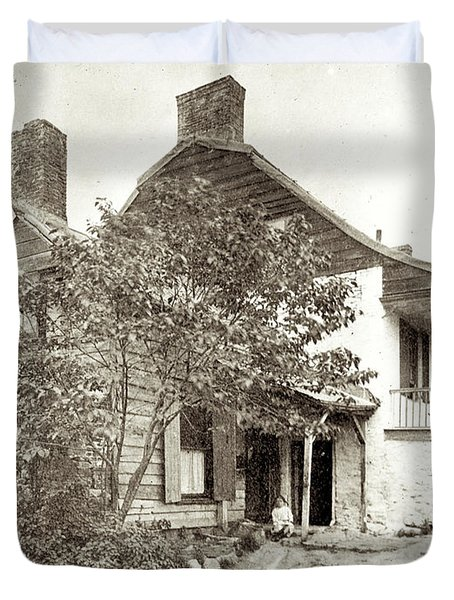 Dyckman House Duvet Cover